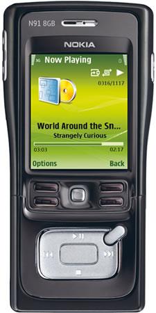 Nokia N91 8GB Mobile Phone