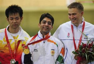 Abhinav Bindra wins Gold Medal