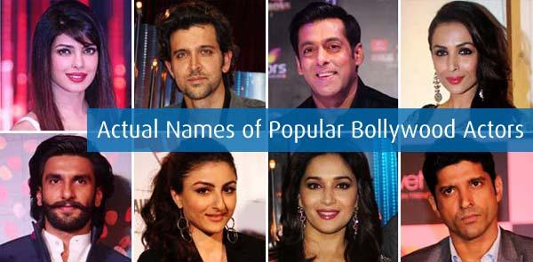 Bollywood Actor Real Names