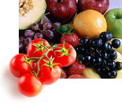 Fresh Fruits and Vegetables for Health
