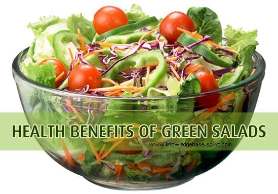 Health Benefits of Green Salads