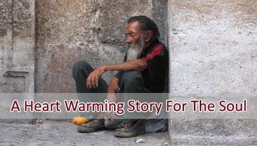 Homeless Man Story