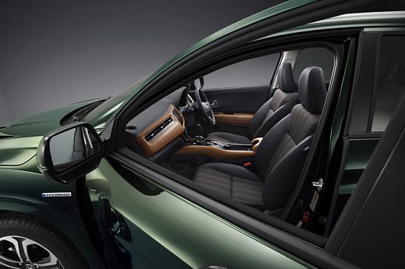 Honda Vezel Interiors