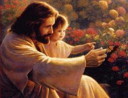 Jesus Christ with Child