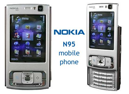 Pictures of N95 Mobile Phone from Nokia