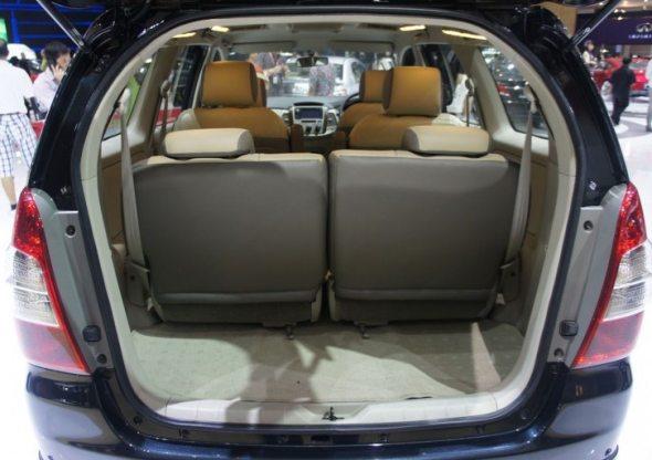 New Toyota Innova Rear Photo