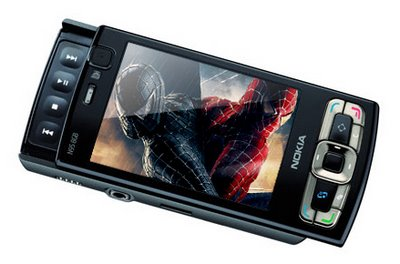 Nokia N95 8GB Edition with Spiderman Preloaded