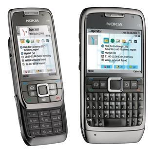 Nokia E71 and E66 Phones