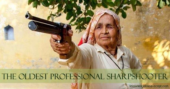 World's Oldest Sharpshooter