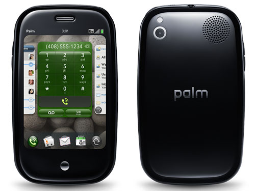 Palm Pre Front & Back View