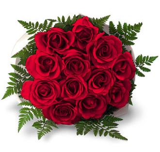 Romatic Valentine Red Roses