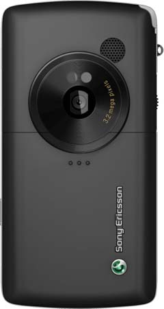 Sony Ericsson W960i Mobile Phone - Backside View