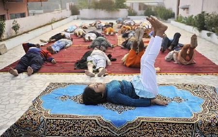 Youngest Yoga Teacher